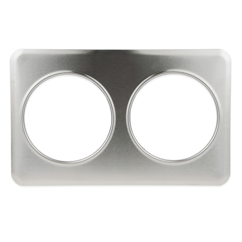 """Update International AP-27D Adapter Plate - (2)8-3/8"""" Inset Holes, Stainless"""