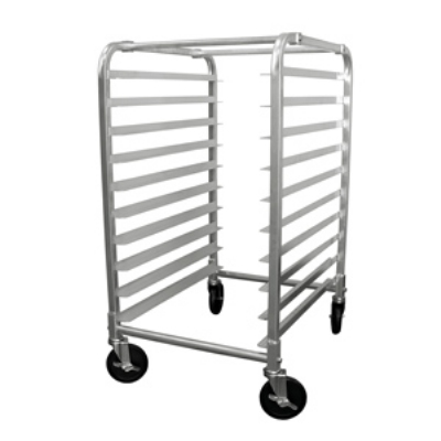 "Update International APR-10HD Half-Size Pan Rack - 10-Tiers, 5"" Castors, Aluminum"