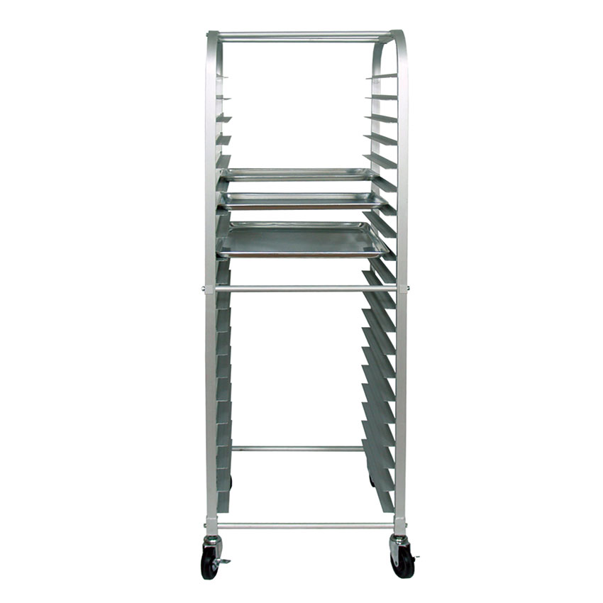 "Update APR-20HD Sheet Pan Rack - 20-Tiers, 5"" Castors, Aluminum"