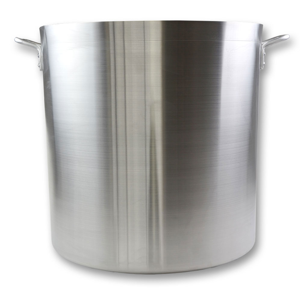 Update International APT-140HD 140 qt NSF Heavy Weight Aluminum Stock Pot Restaurant Supply