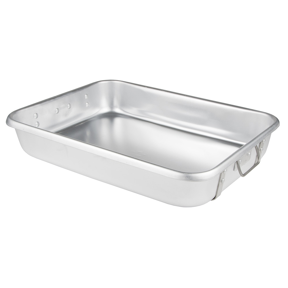 "Update International ARP-1824 Roasting Pan - 18x24x4-1/2"" Aluminum"