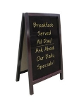 "Update International ASIGN-2034 A"" Style Sign - 20x34"" Non-Magnetic, Wood Frame"