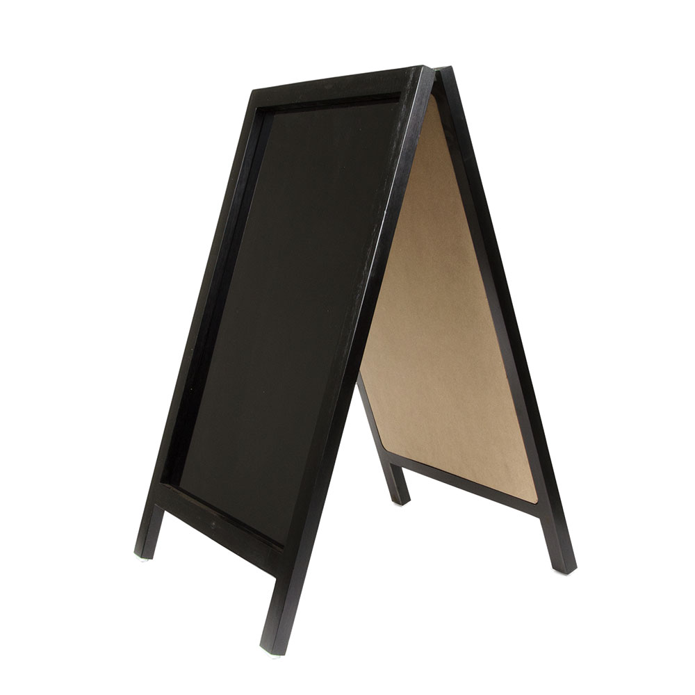 "Update ASIGN-2034 A"" Style Sign - 20x34"" Non-Magnetic, Wood Frame"