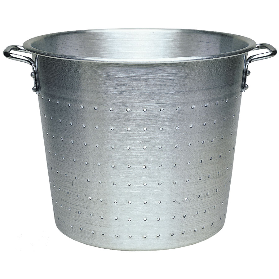 "Update AVC-13 13"" Vegetable Container - Aluminum"