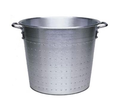 "Update International AVC-15 15"" Vegetable Container - Aluminum"