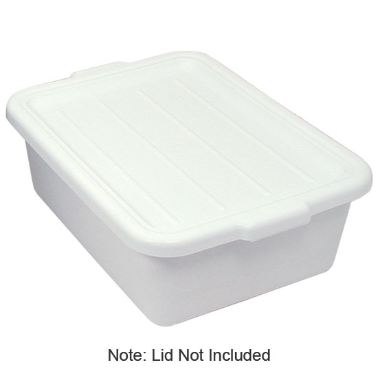 "Update BB-5FSN Freezer -Safe Tote Box - 20-1/2x15-1/4x5"" Polypropylene, White"