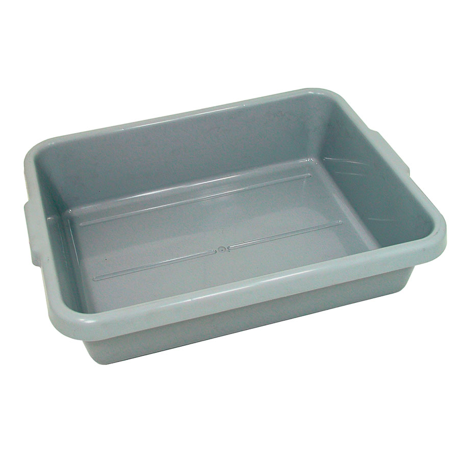 "Update BB-5GN Tote Box - 20-1/2x15-1/4x5"" Polypropylene, Gray"
