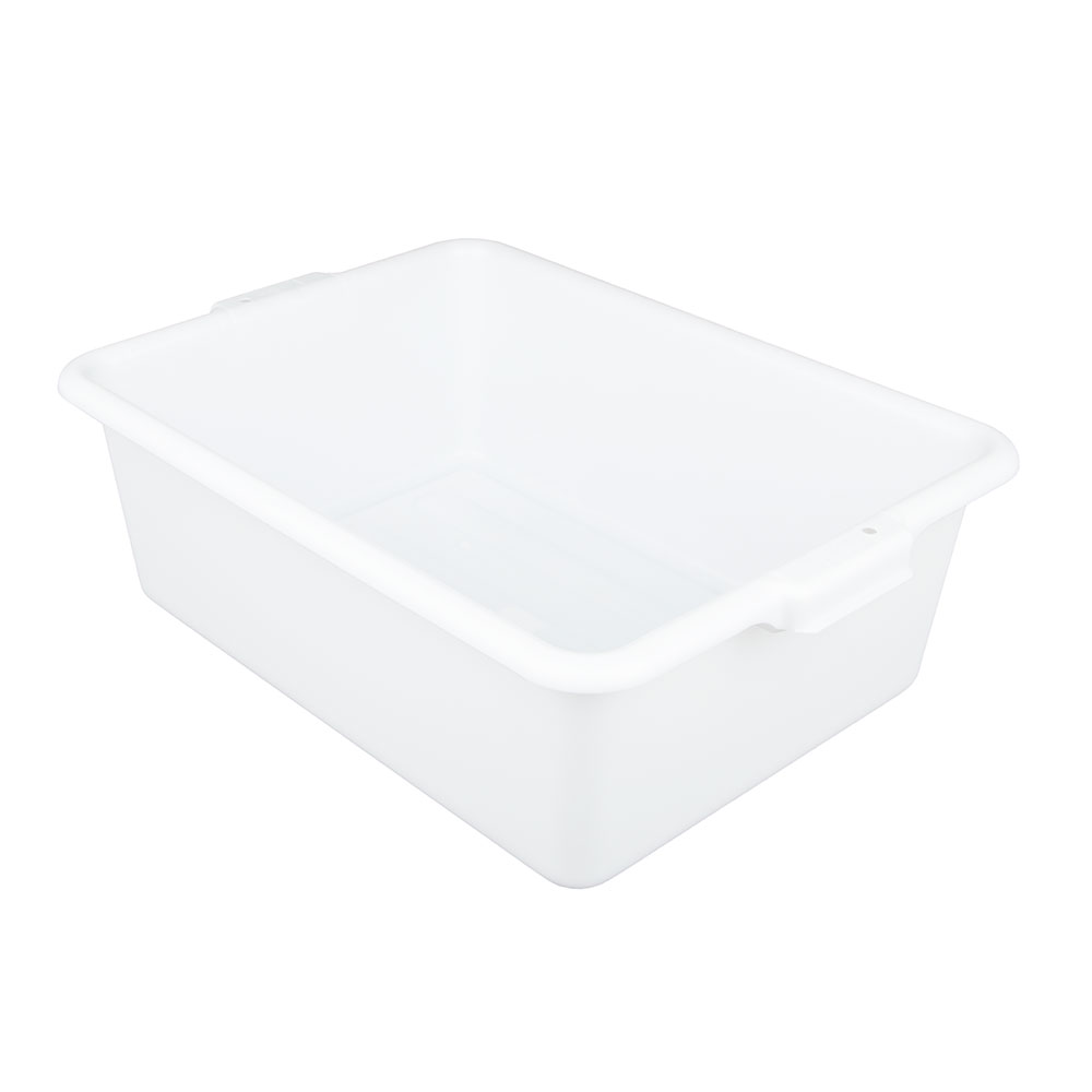 "Update BB-7FSN Freezer -Safe Tote Box - 20-1/2x15-1/4x7"" Polypropylene, White"