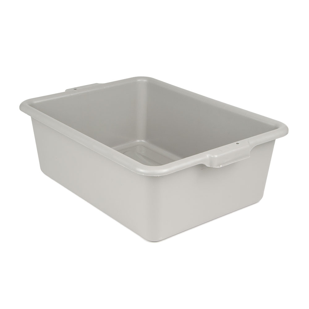 "Update BB-7G Tote Box - 20-1/2x15-1/4x7"" Polypropylene, Gray"