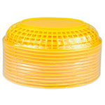 "Update BB96Y Oval Fast Food Basket - 9-1/2x7"" Plastic, Yellow"