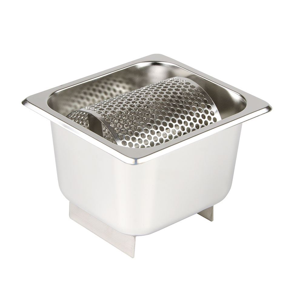 "Update BR-164 Butter Roller - 7x6-3/8x5-1/2"" Stainless Steel"