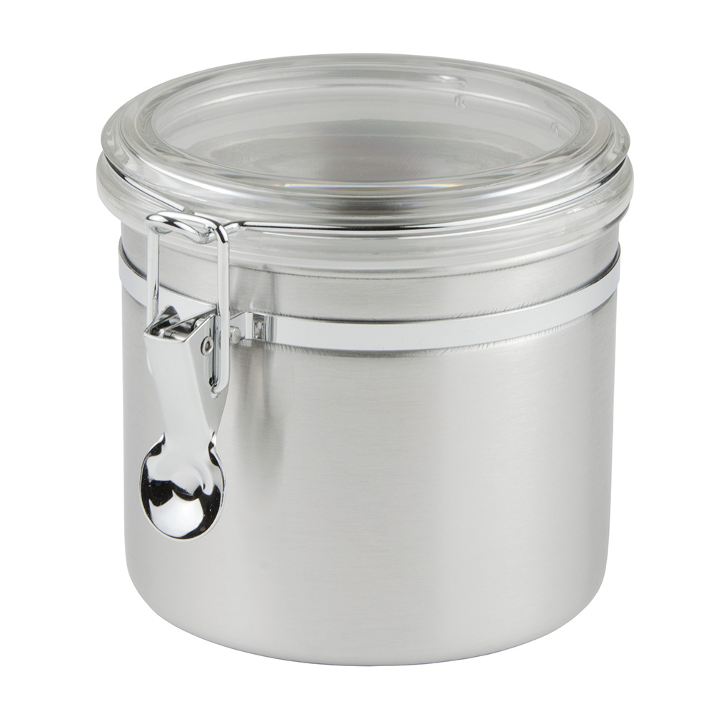 Update CAN-5AC 35-oz Storage Canister - Stainless/Plastic Lid