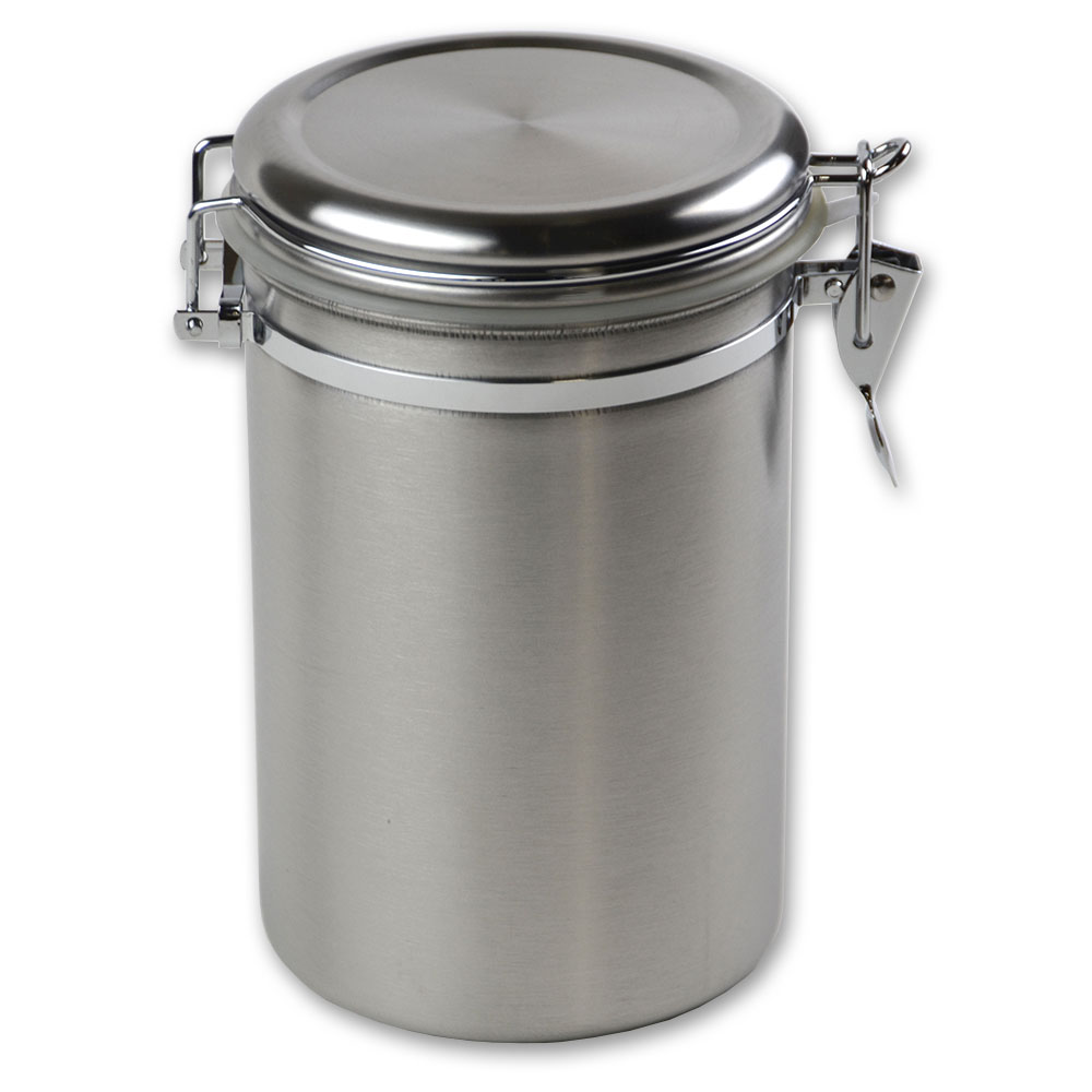 kitchen canisters storage jars katom restaurant supply update can 8ss 70 oz storage canister stainless