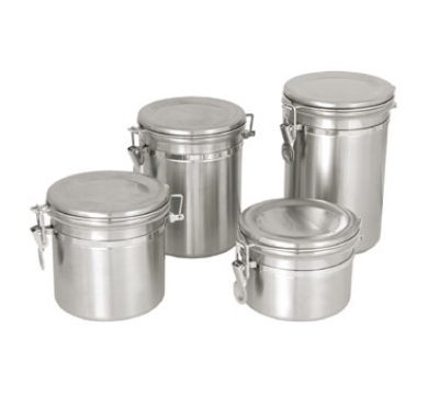 Update International CAN-8SS 70-oz Storage Canister - Stainless