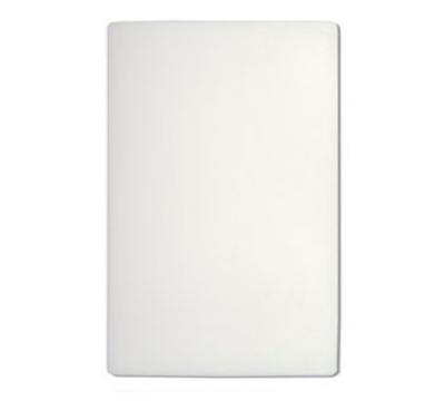 "Update International CB-1520XH Poly Cutting Board - 15x20x1"" White"