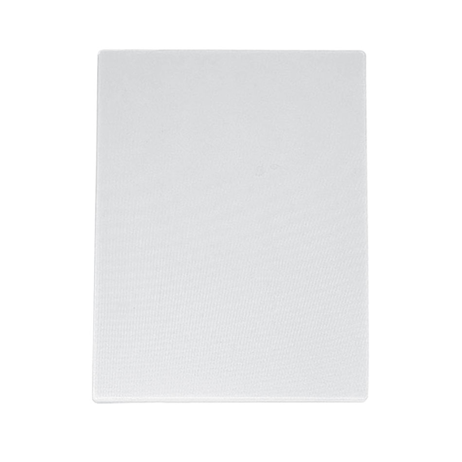 "Update CB-1824H Poly Cutting Board - 18x24x3/4"" White"