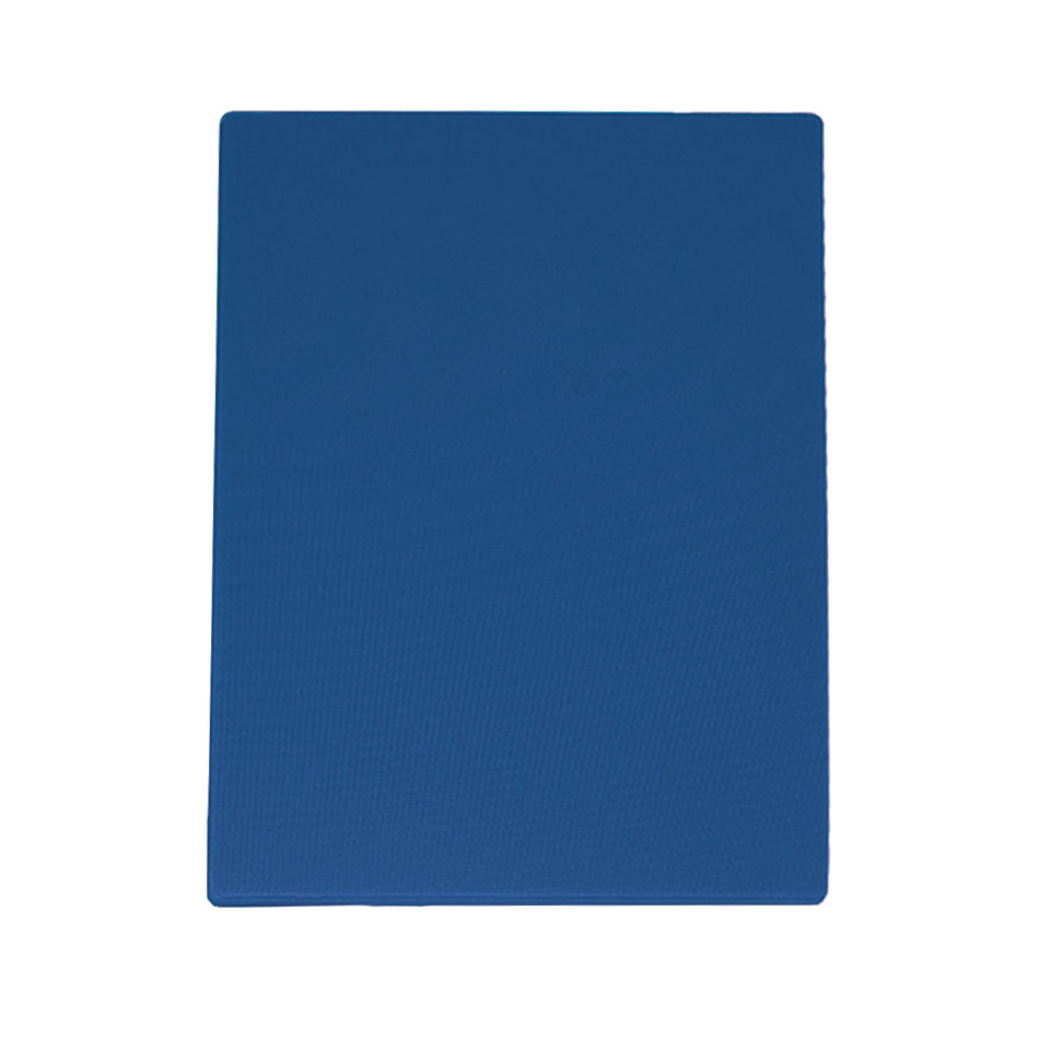 "Update CBBL-1520 Poly Cutting Board - 15x20x1/2"" Blue"