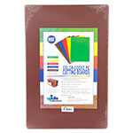 "Update CBBR-1218 Poly Cutting Board - 12x18x1/2"" Brown"