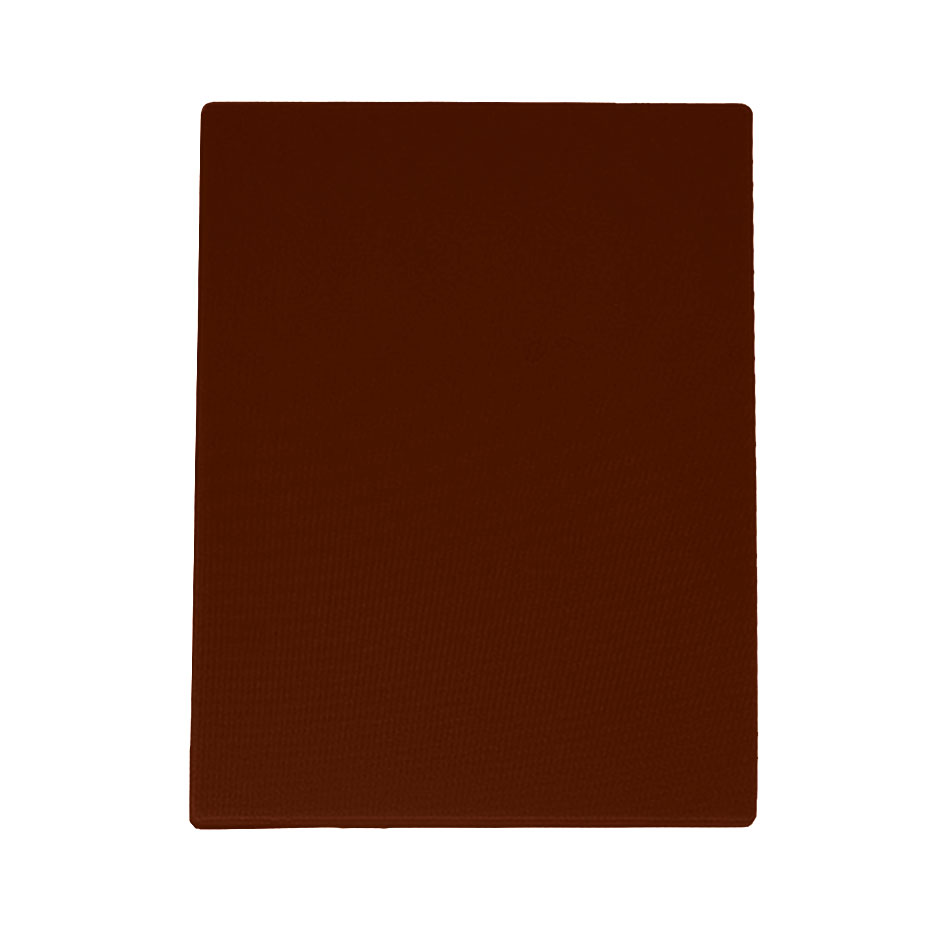 "Update CBBR-1520 Poly Cutting Board - 15x20x1/2"" Brown"