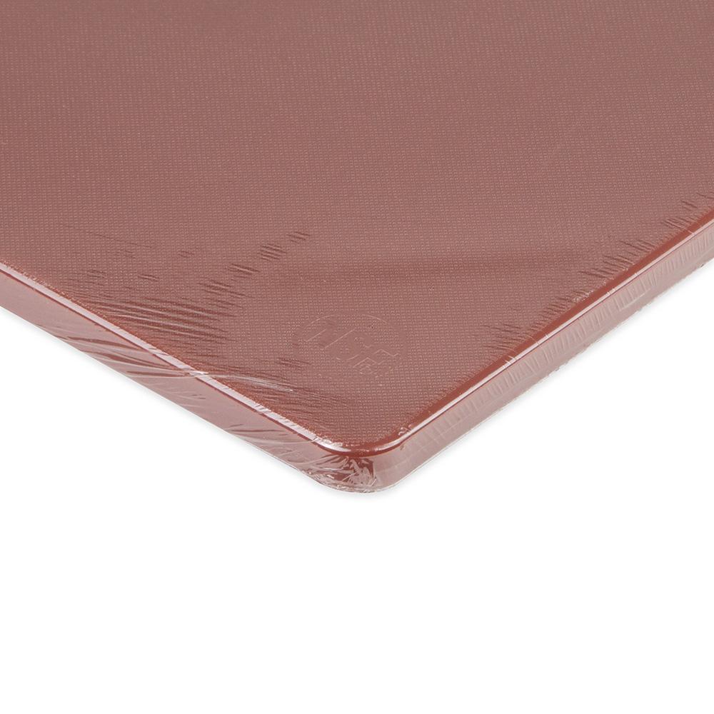 """Update CBBR-1824 Poly Cutting Board - 18x24x1/2"""" Brown"""