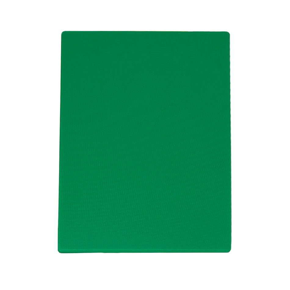 "Update CBGR-1824 Poly Cutting Board - 18x24x1/2"" Green"