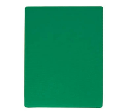 "Update International CBGR-1218 Poly Cutting Board - 12x18x1/2"" Green"