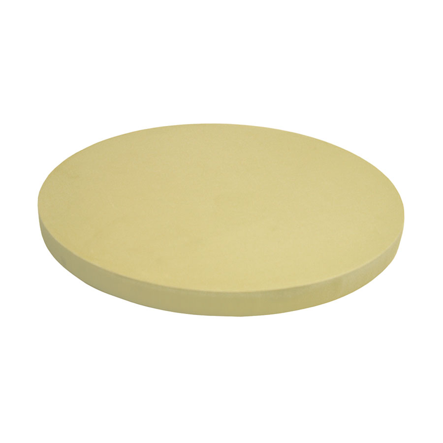 "Update CBR-16RH Round Cutting Board - 16x1"" Synthetic Rubber"