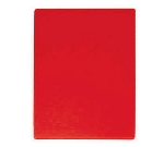 "Update CBRE-1824 Poly Cutting Board - 18x24x1/2"" Red"