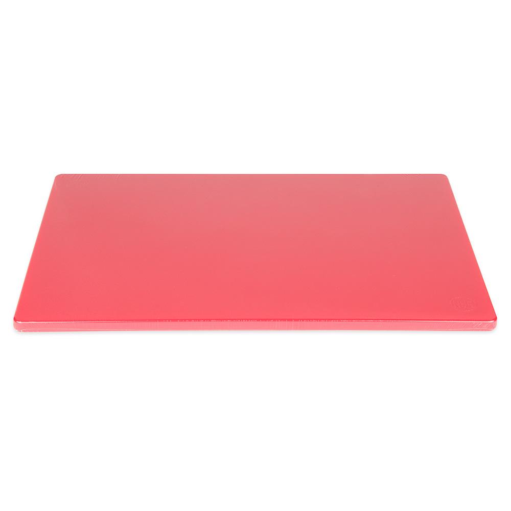 """Update CBRE-1218 Poly Cutting Board - 12x18x1/2"""" Red"""