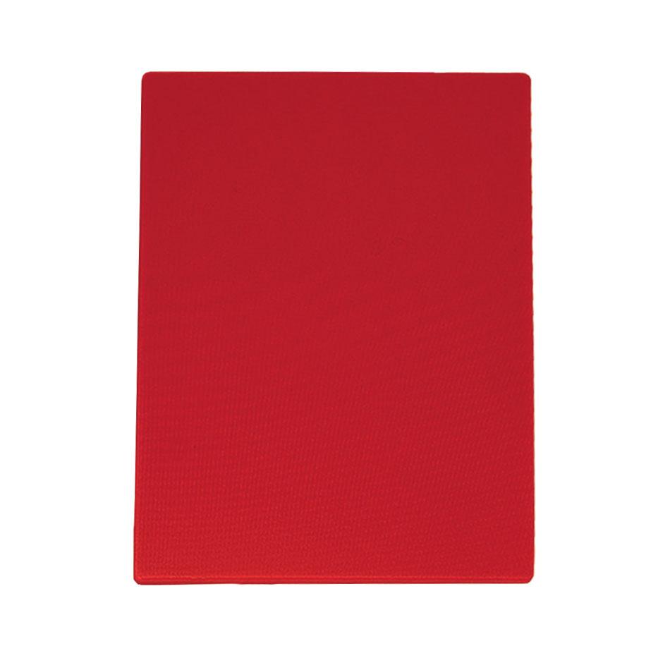 """Update CBRE-1520 Poly Cutting Board - 15x20x1/2"""" Red"""