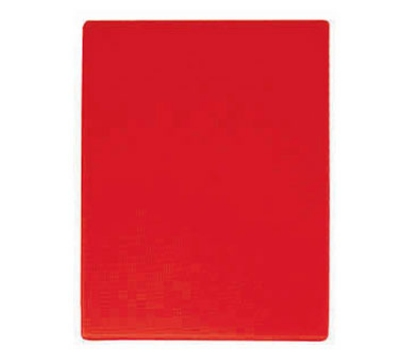 "Update International CBRE-1520 Poly Cutting Board - 15x20x1/2"" Red"
