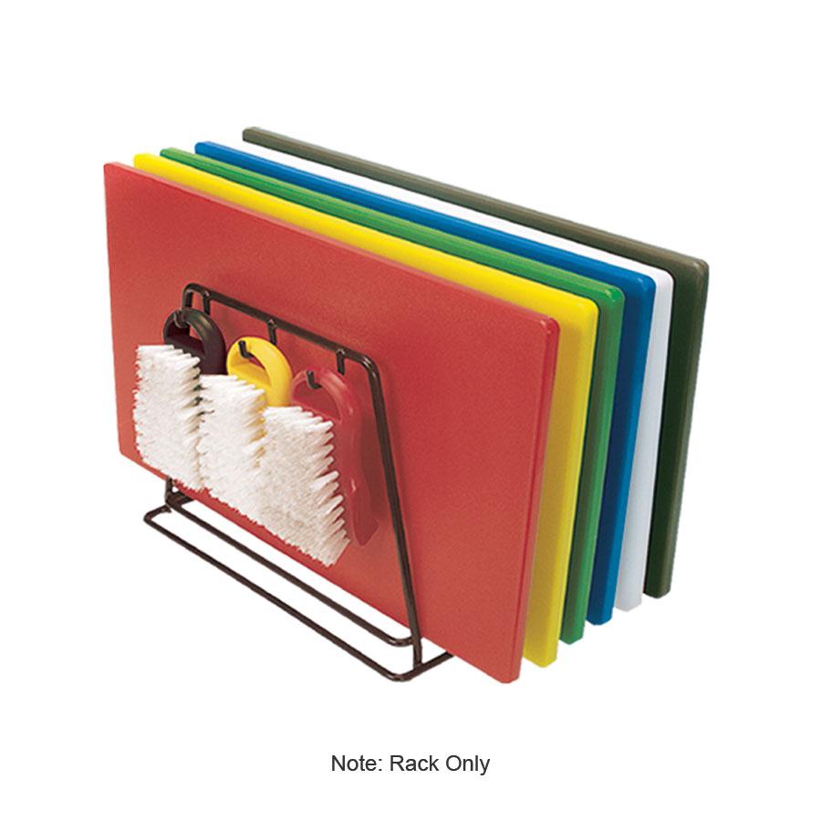 "Update CBRK-6N Cutting Board Rack - Holds 6 Racks, 12x9x10"" Black, Steel"