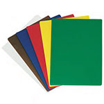"Update CBS-1824 Poly Cutting Board Set - 18x24x1/2"" (6)Assorted Colors"