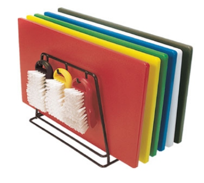 "Update International CBS-1218 Poly Cutting Board Set - 12x18x1/2"" (6)Assorted Colors"