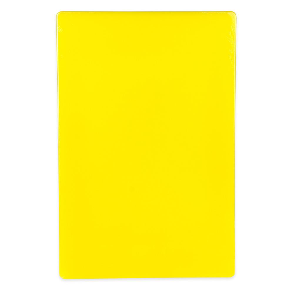 "Update CBYE-1218 Poly Cutting Board - 12x18x1/2"" Yellow"