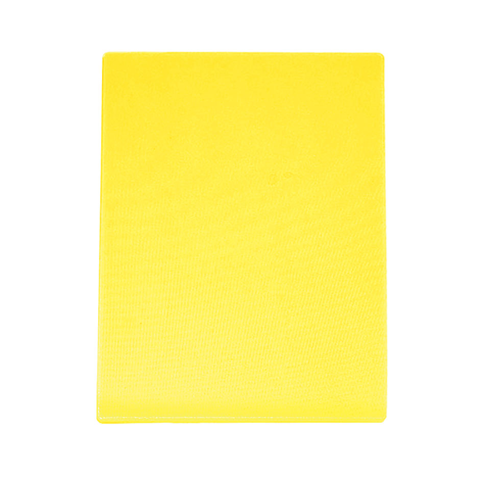 "Update CBYE-1520 Poly Cutting Board - 15x20x1/2"" Yellow"