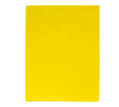 "Update International CBYE-1218 Poly Cutting Board - 12x18x1/2"" Yellow"