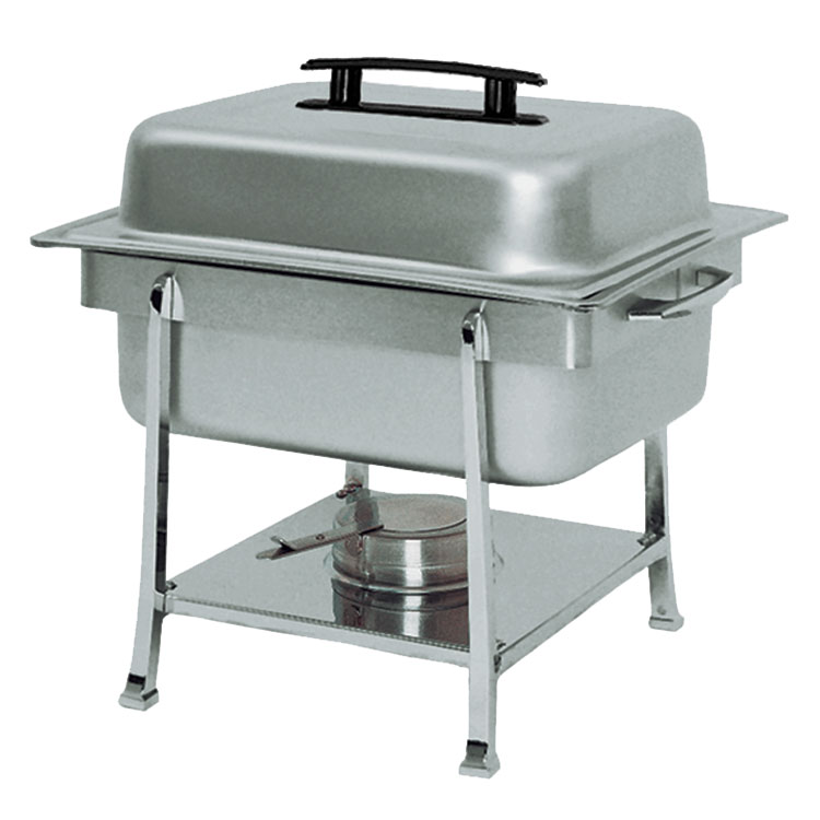 Update International CC-2P Continental Half-Size Chafer - Dripless, Stainless