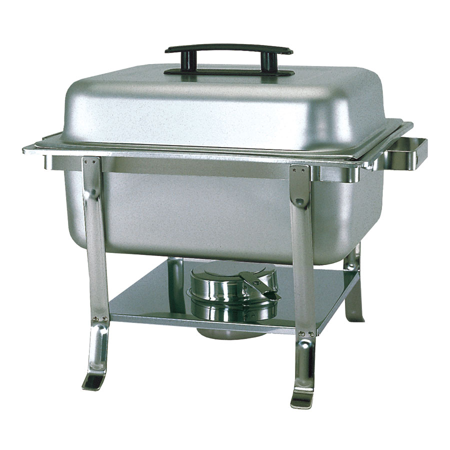 Update CC-9P Half Size Chafer w/ Lift-off Lid & Chafing Fuel Heat