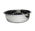 "Update CCOL-11S 12"" Chinese Style Colander - 1.5mm Holes, Stainless"