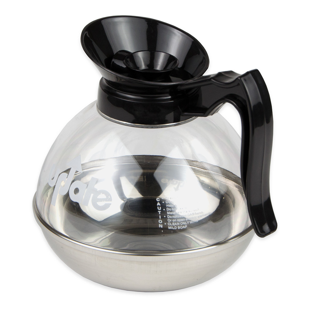 Update CD-8890 64-oz Coffee Decanter - Stainless/Black