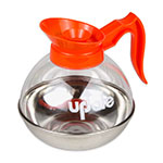 Update CD-8890/OR 64-oz Coffee Decanter - Stainless/Orange