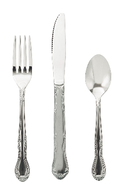 Update International CL-66 Claridge Salad Fork - 2.0mm Stainless, Mirror-Polish