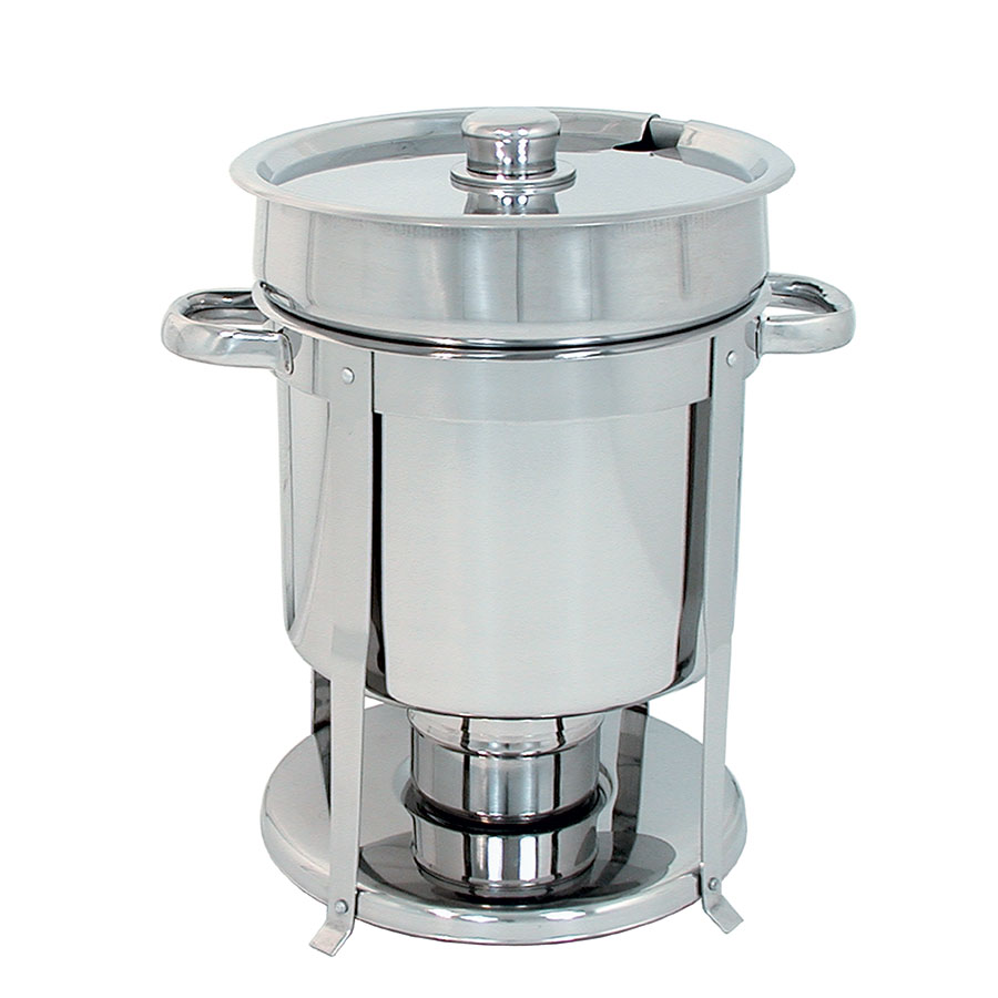 Update CM-11 Round Chafer w/ Lift-off Lid & Chafing Fuel Heat