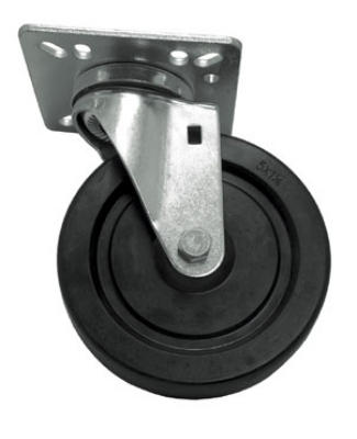 "Update International CUTP-5 5"" Top Plate Casters - 400-lb Capacity"