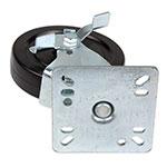 """Update CUTP-5L 5"""" Plate Caster w/ 400-lb Capacity"""