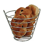 "Update CWB-97 5-7/8"" Wire Basket - Chrome"