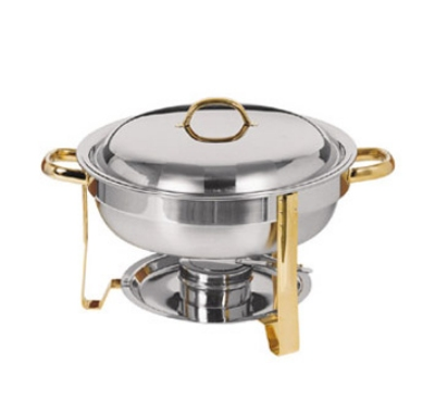 Update International DC-4/WP 4-qt Round Chafer Water Pan - (DC-4)