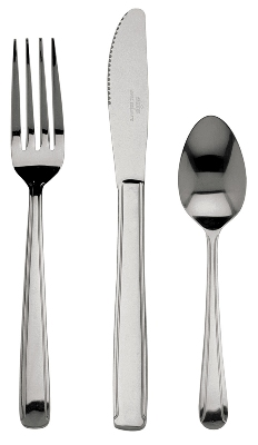 Update International DLH-703 Dominion Dessert Spoon - 2.2mm Stainless