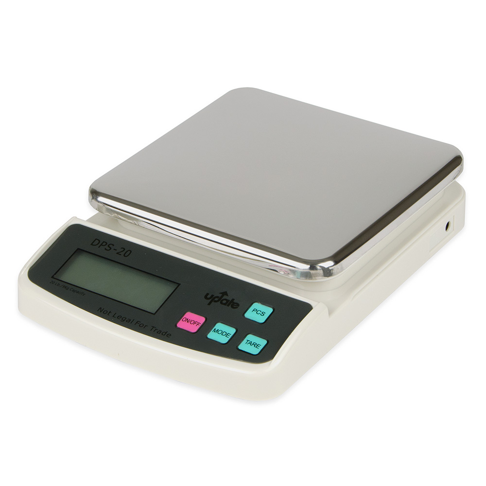 Update DPS-20 Digital Portion Scale - 20-lb x 0.01-oz, Stainless